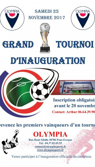 Grand Tournoi D'Inauguration